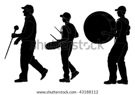 marching band silhouette people silhouette 4 a marching band band marching silhouette