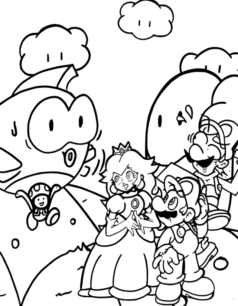 mario 3d world coloring pages coloring pages mario 3d world coloring home 3d world pages coloring mario