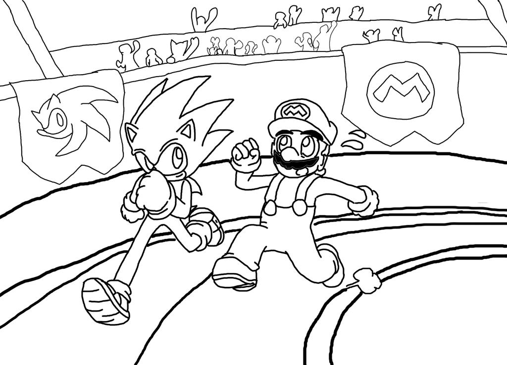 mario and sonic coloring pages mario vs sonic pages coloring pages pages coloring mario and sonic