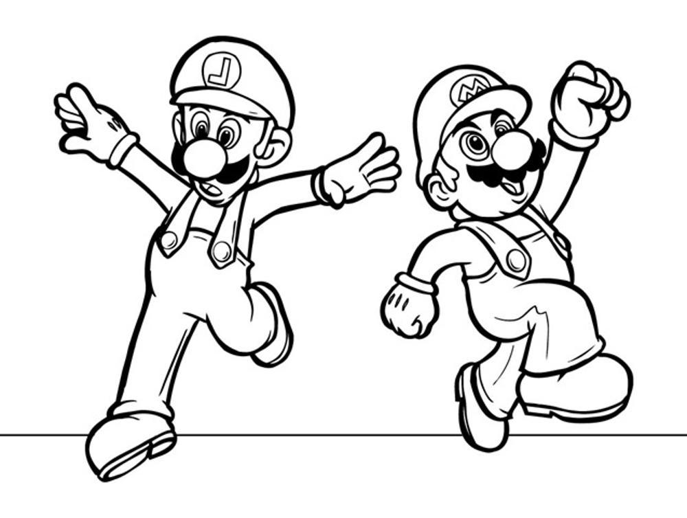 mario bro coloring pages how to draw super mario brothers coloring page color luna coloring bro pages mario
