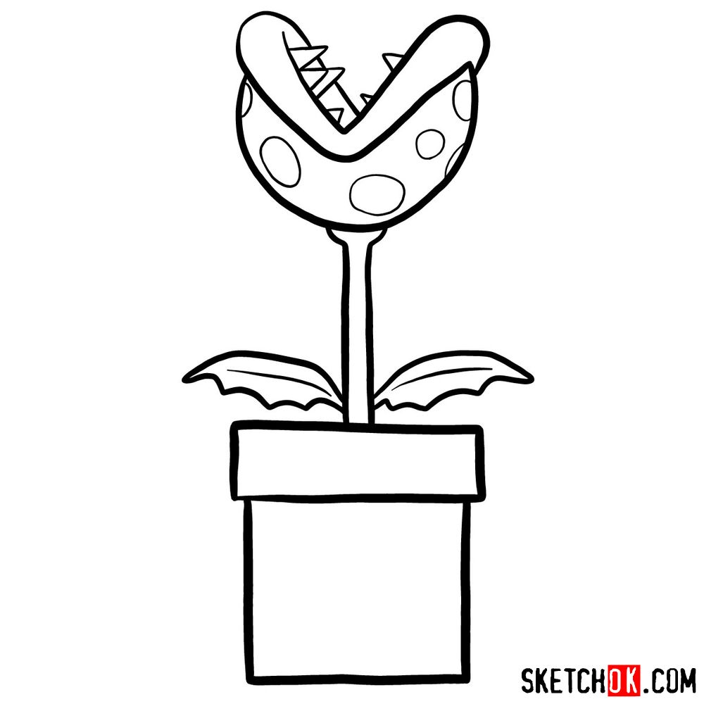 mario piranha plant coloring pages learn how to draw piranha plant from super mario super pages plant coloring piranha mario
