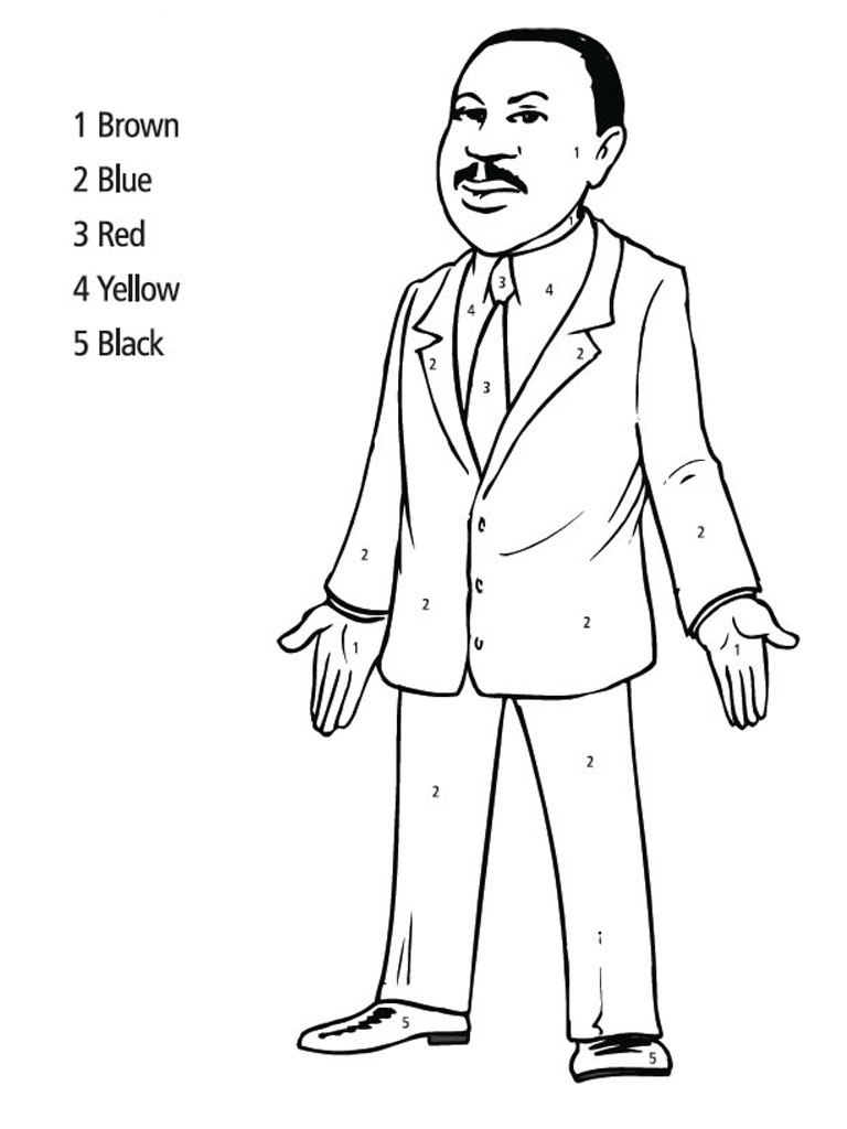martin luther king coloring page coloring books african american leaders power panel page martin king luther coloring