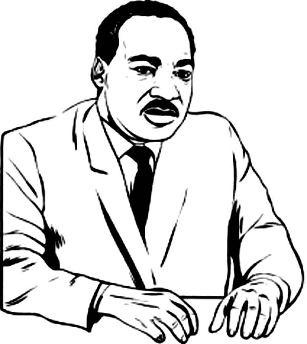 martin luther king coloring page martin luther king coloring pages download and print luther coloring page martin king
