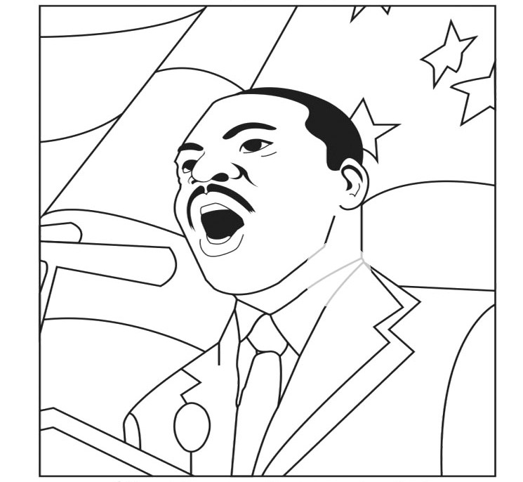 martin luther king coloring page martin luther king jr coloring pages and worksheets best luther coloring page king martin