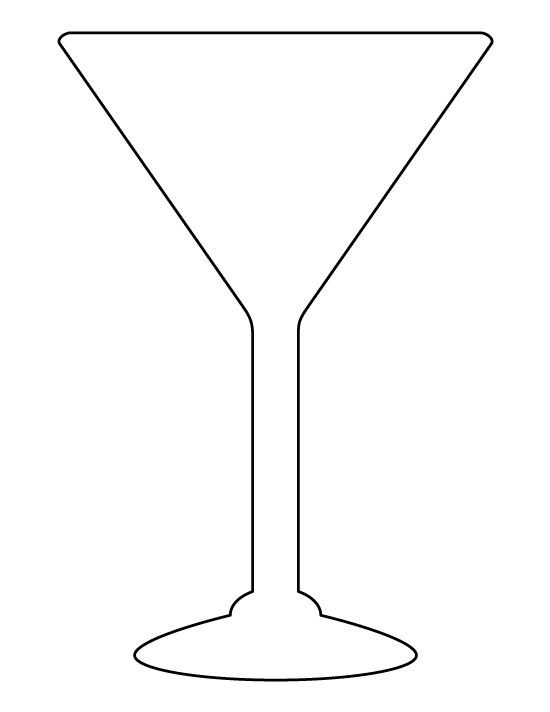 martini glass outline margarita glass outline clip art at clkercom vector outline glass martini