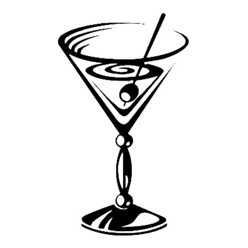 martini glass outline martini glass silhouette free vector silhouettes glass outline martini 1 1