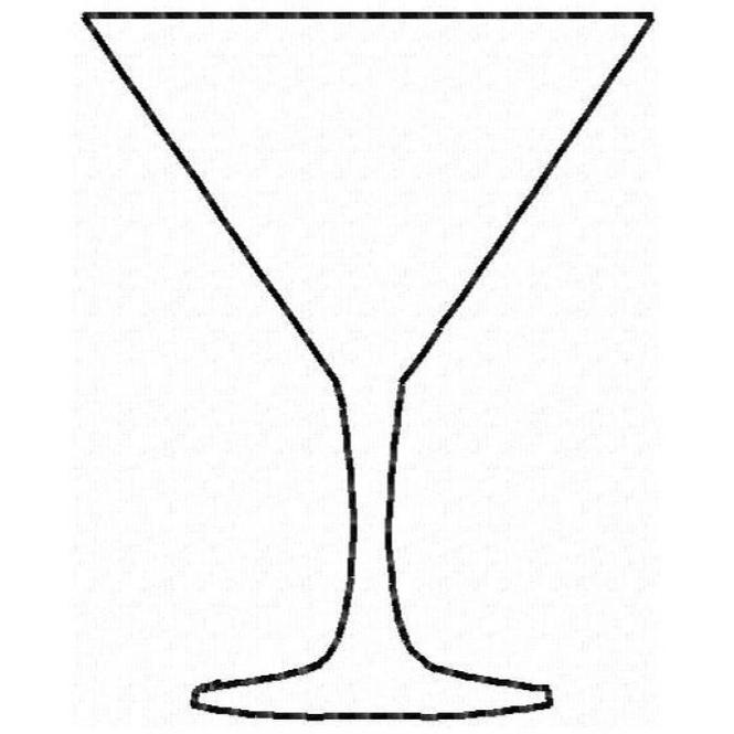 martini glass outline martini glass silhouette google search tattoo martini outline glass