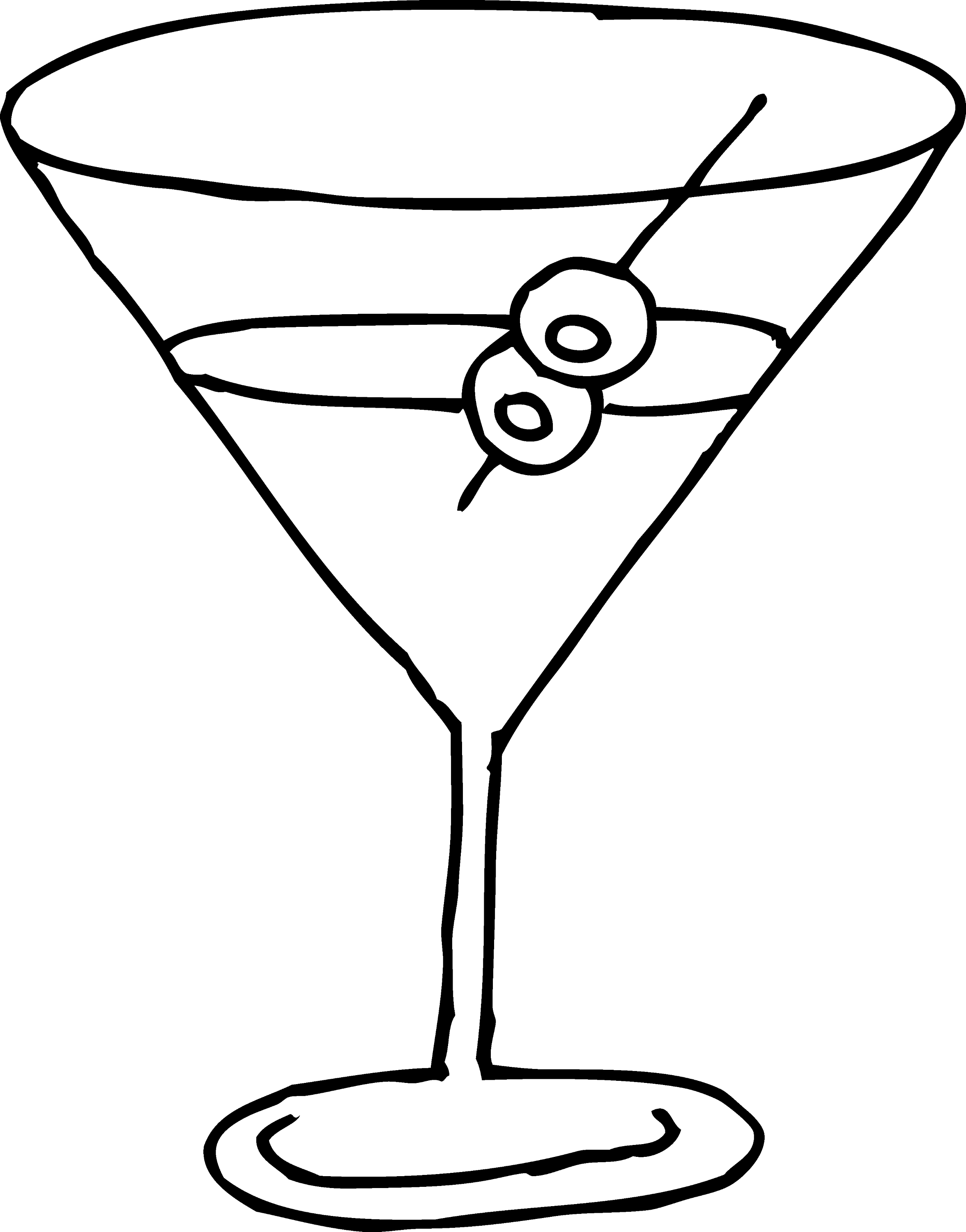 martini glass outline pin by muse printables on printable patterns at martini glass outline
