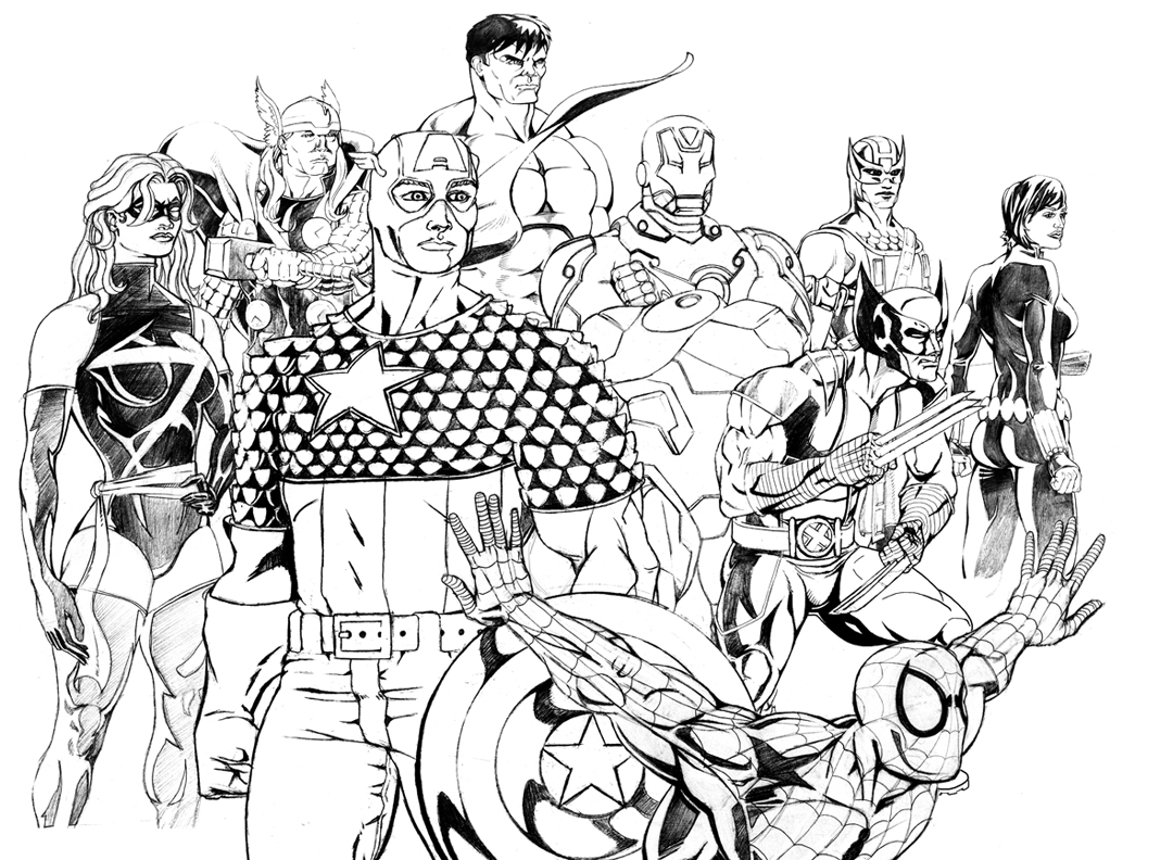 marvel pictures to colour best marvel printable coloring pages hunter blog to marvel colour pictures