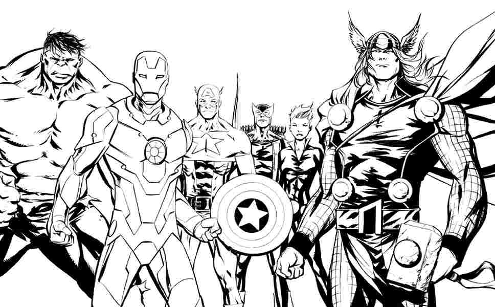marvel pictures to colour superhero avengers character superhero coloring pages for marvel pictures to colour