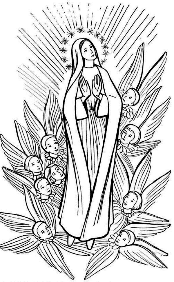 mary coloring pages 20 best mary coloring pages images on pinterest catholic pages coloring mary