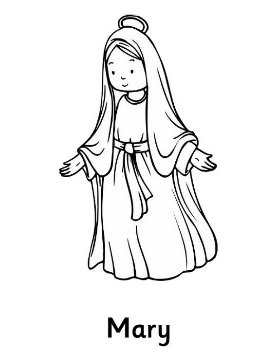 mary coloring pages mary mother of god coloring page thecatholickidcom coloring mary pages