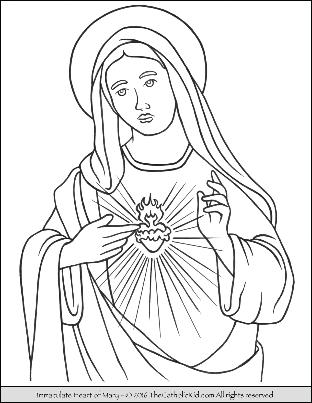 mary coloring pages saint mary praying coloring page thecatholickidcom coloring mary pages