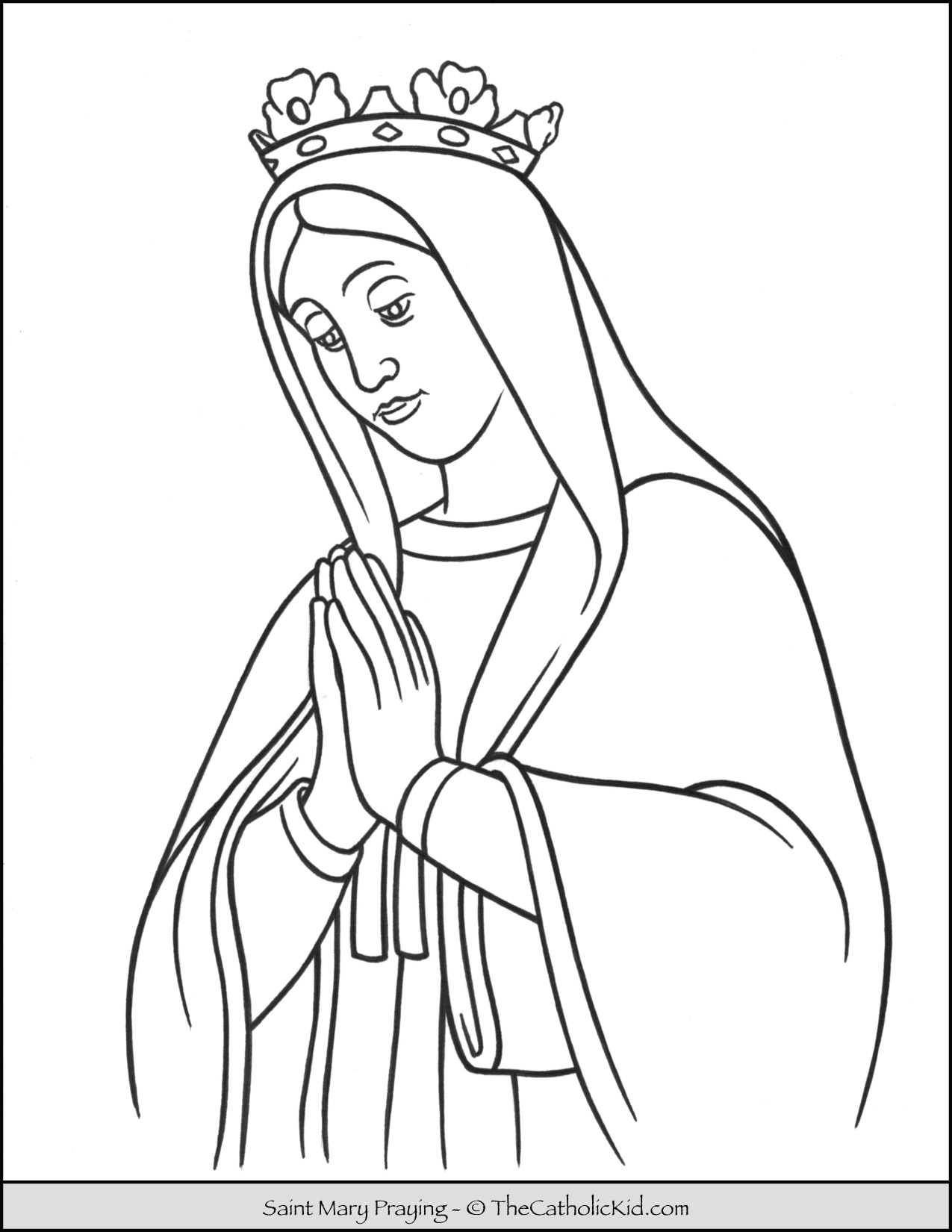 mary coloring pages the assumption of blessed virgin mary glorious mysteries mary pages coloring