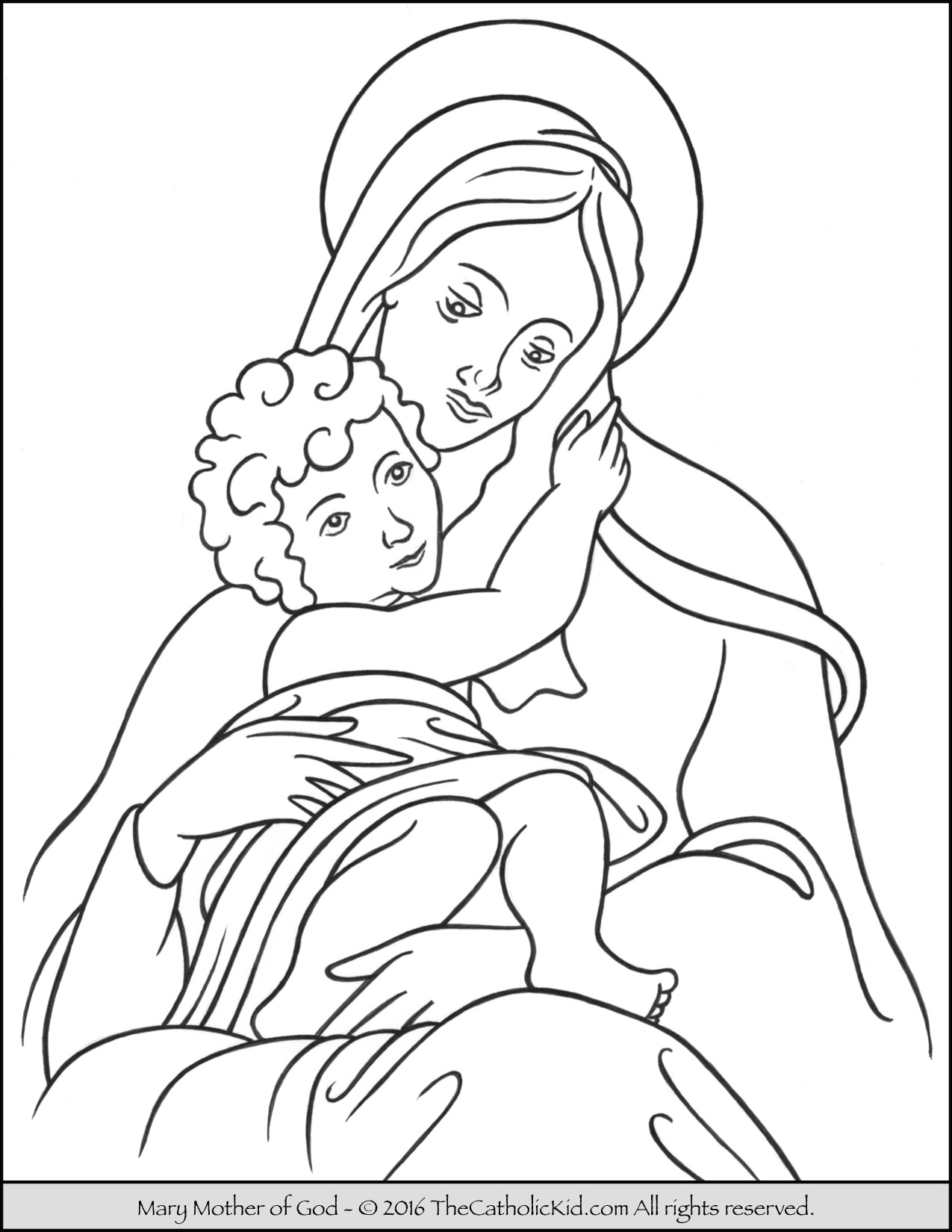 mary coloring pages the assumption of blessed virgin mary glorious mysteries pages coloring mary