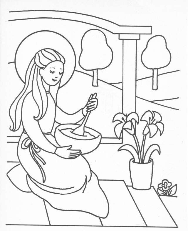 mary coloring pages virgin mary coloring page coloring home coloring mary pages