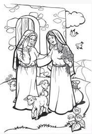 mary visits elizabeth coloring page image result for mary visits elizabeth coloring page visits page mary coloring elizabeth