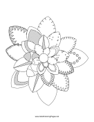 maryland state flower maryland state flag coloring page flower maryland state