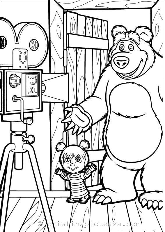 masha coloring pages masha coloring pages for download cristina is painting coloring masha pages