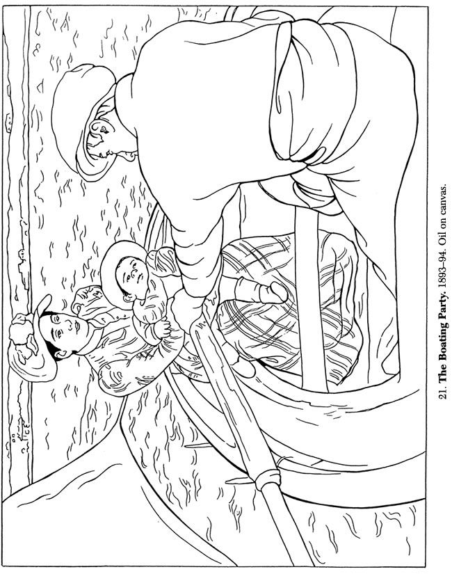 masterpiece coloring pages Édouard manet the railway masterpieces coloring pages masterpiece coloring pages