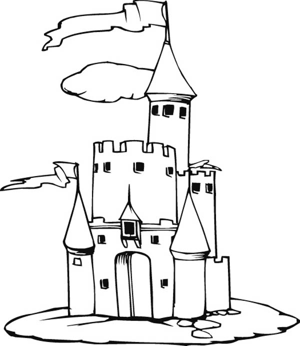 medieval castle coloring pages amazing picture of medieval castle coloring page kids pages medieval coloring castle