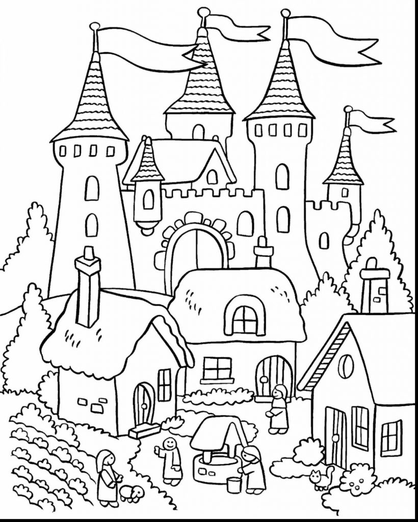 medieval castle coloring pages castle coloring pages getcoloringpagescom pages castle medieval coloring