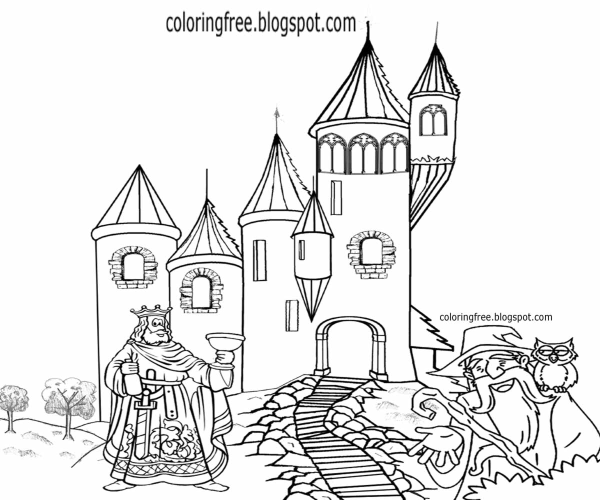 medieval castle coloring pages free coloring pages printable pictures to color kids pages castle medieval coloring