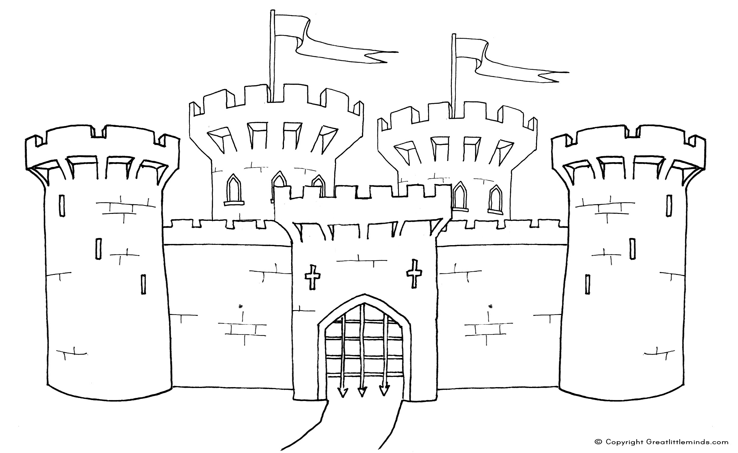 medieval castle coloring pages medieval castle colouring page medieval castle pages coloring