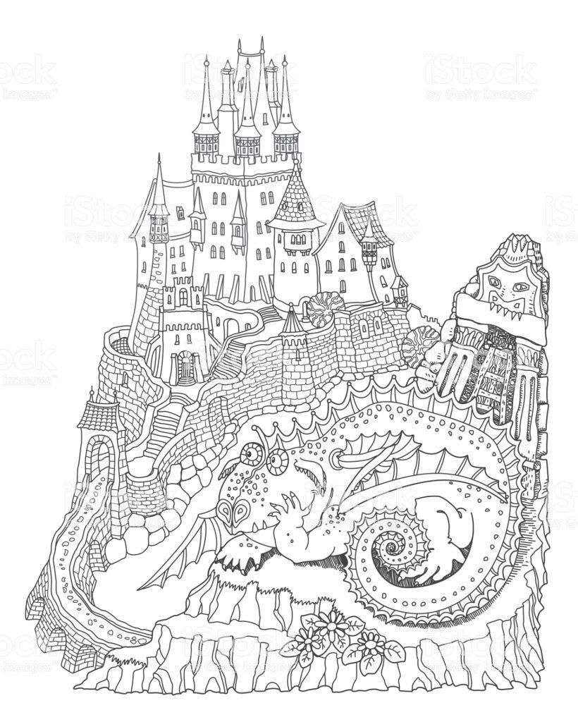 medieval castle coloring pages medieval castle drawing tagged with coloring page castle coloring castle medieval pages