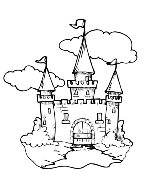 medieval castle coloring pages medieval castle front gate coloring page kids play color medieval castle coloring pages