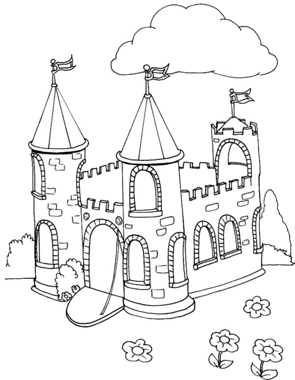 medieval castle coloring pages medieval castles drawing at getdrawings free download coloring castle medieval pages