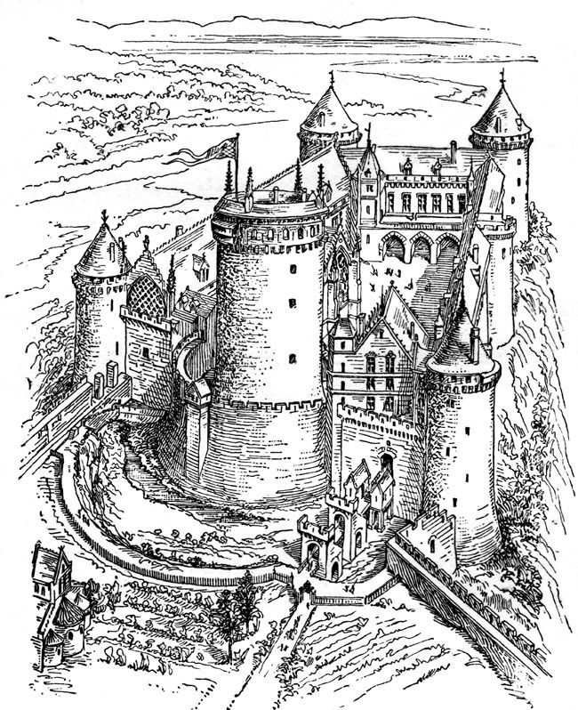 medieval castle coloring pages middle ages castle castle coloring page clip art pages medieval castle coloring