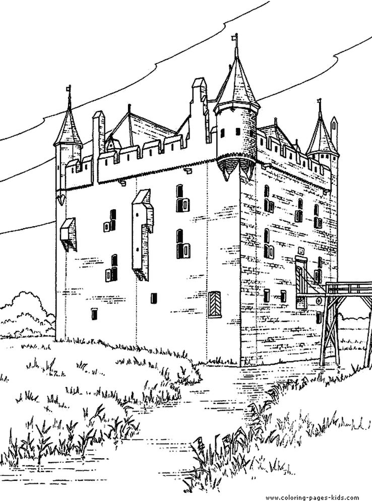medieval castle coloring pages printable medieval castle detailed coloring pages for coloring castle medieval pages