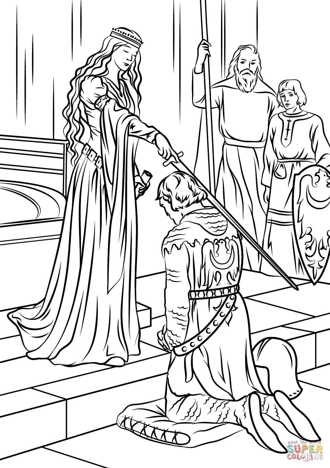 medieval times coloring pages coloring pages about the middle ages medievalistsnet times pages medieval coloring