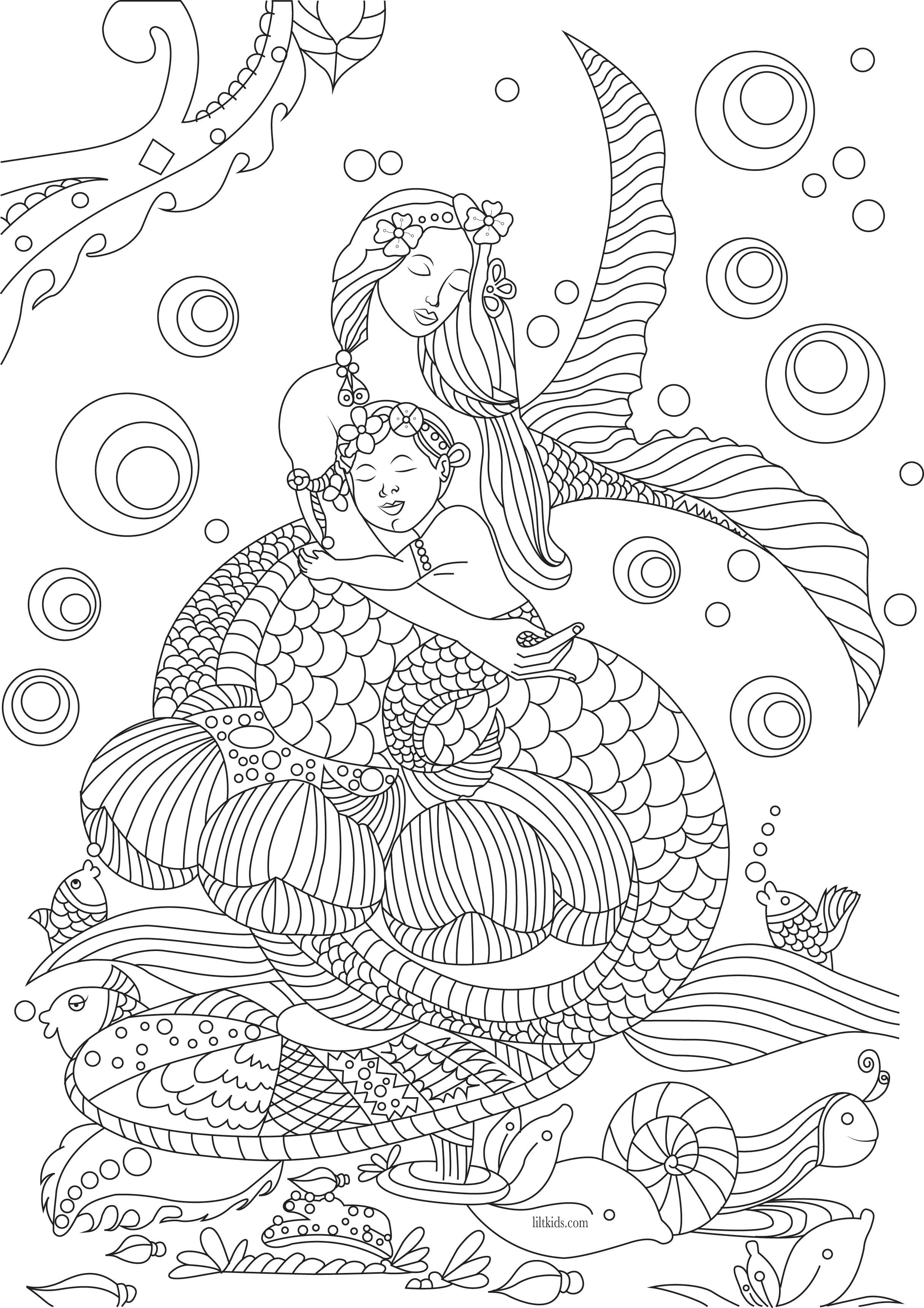 mermaid mandala coloring pages 100 free adult coloring pages dibujos dibujos de mermaid mandala coloring pages