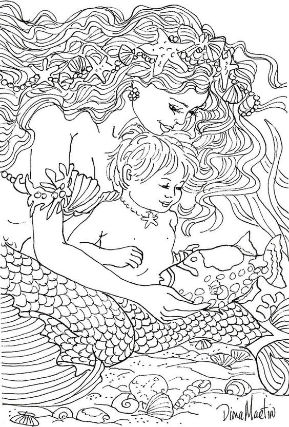 mermaid mandala coloring pages pin by nupur bhatnagar on devian art mermaid coloring mermaid mandala pages coloring