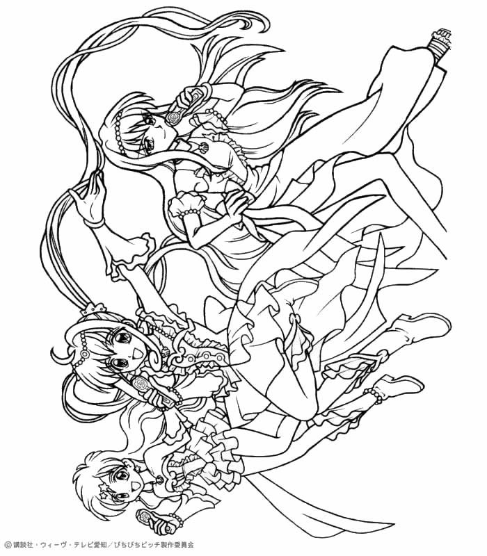 mermaid melody coloring pages mermaid melody coloring pages สมดระบายส pages mermaid melody coloring