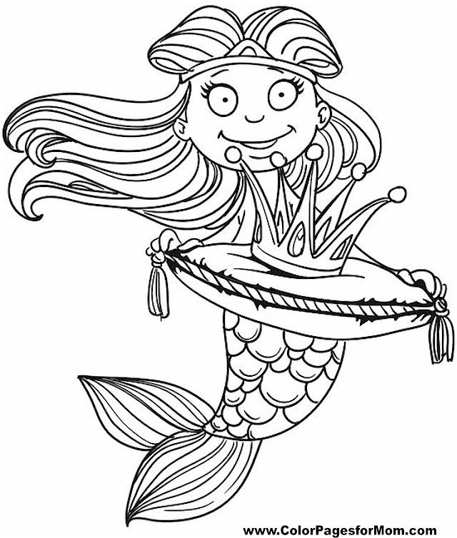 mermaid outline coloring pages mermaid coloring pages to download and print for free pages outline coloring mermaid