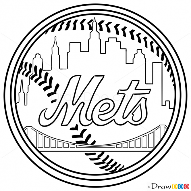 mets logo pictures how to draw ny mets baseball logos pictures mets logo