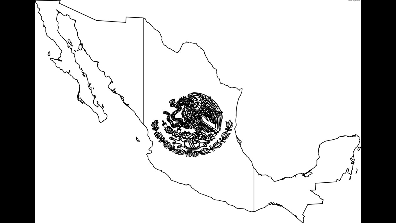 mexican flag template free mexican flag black and white download free clip art template mexican flag 1 1