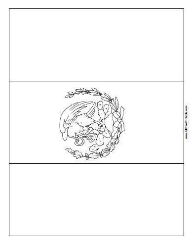 mexican flag template free printable mexico flag coloring page flag coloring template mexican flag