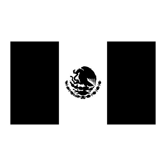mexican flag template mexico flag black and white vector 1000 awesome free mexican template flag