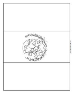 mexico flag outline 1000 images about central america studies on pinterest flag mexico outline