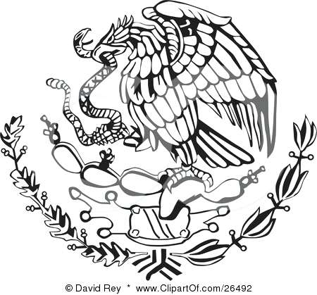 mexico flag outline mexican flag eagle drawing at getdrawings free download mexico flag outline
