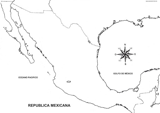mexico map coloring page mexico map 3d model max obj 3ds wrl wrz mtl tga cgtradercom page coloring mexico map