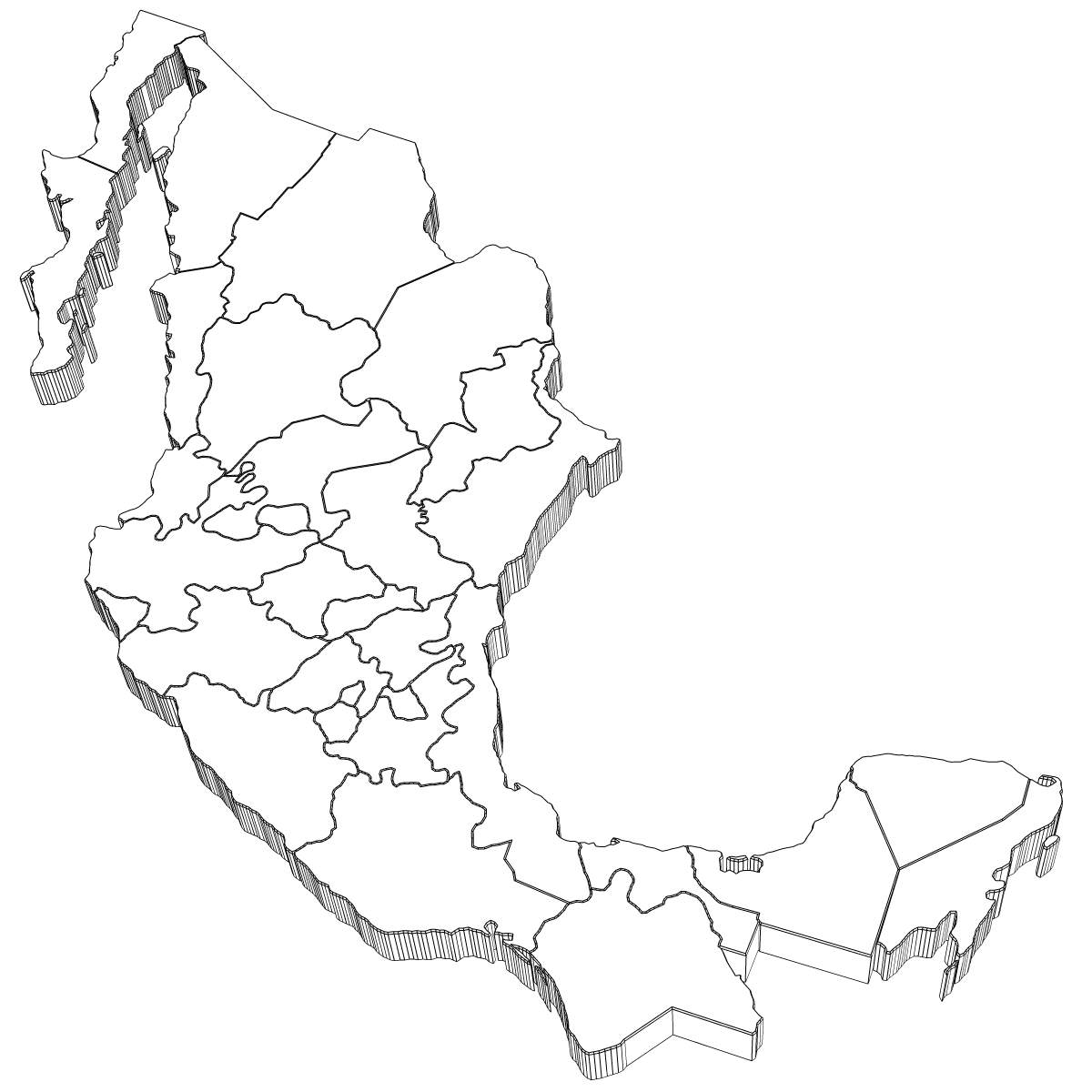 mexico map coloring page printable mexico map countries coloring pages map page mexico coloring