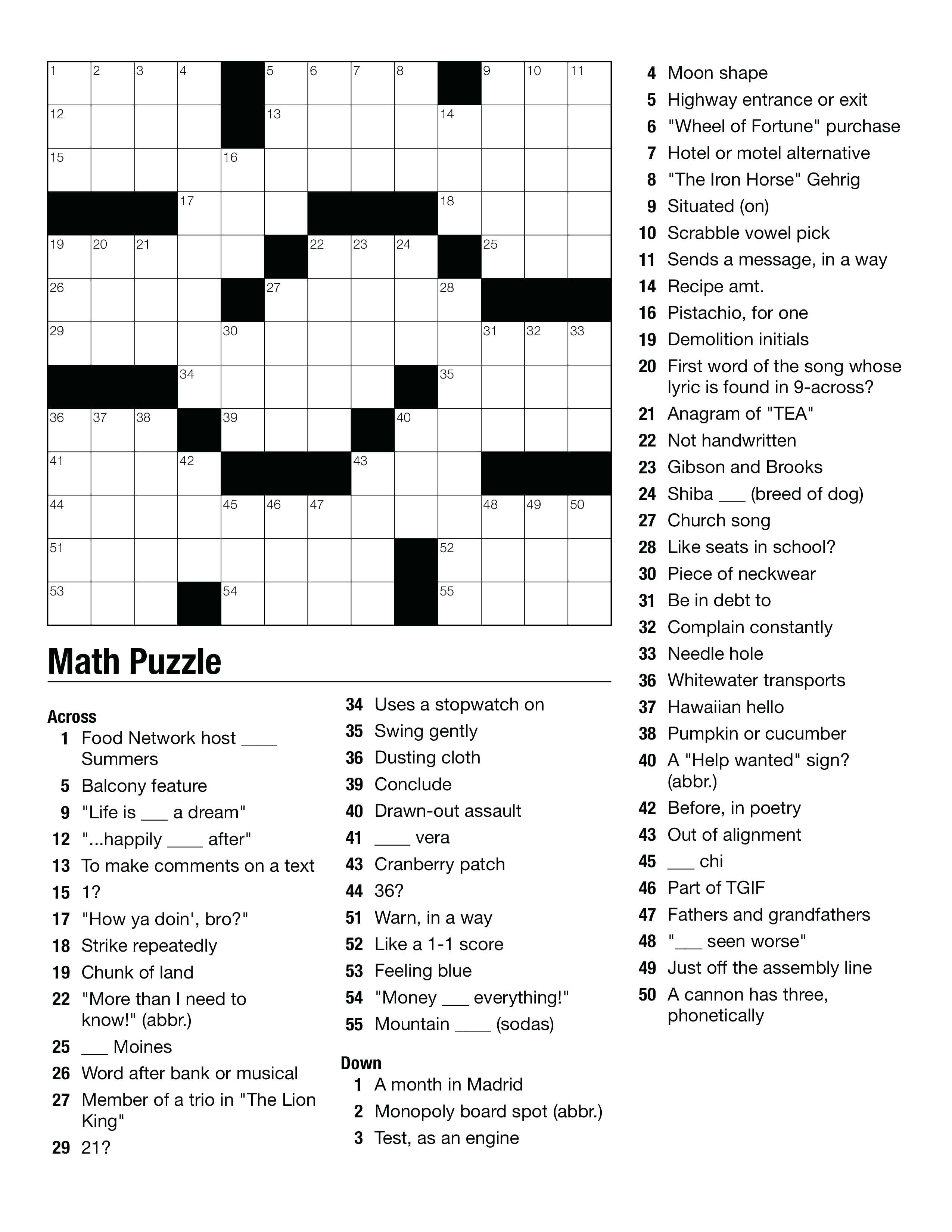 middle school crossword puzzles middle school crossword crossword puzzle crossword middle school puzzles