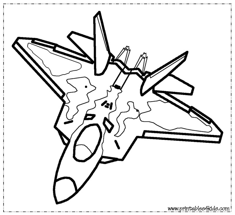 military airplane coloring pages fighter jet coloring pages at getcoloringscom free airplane pages military coloring
