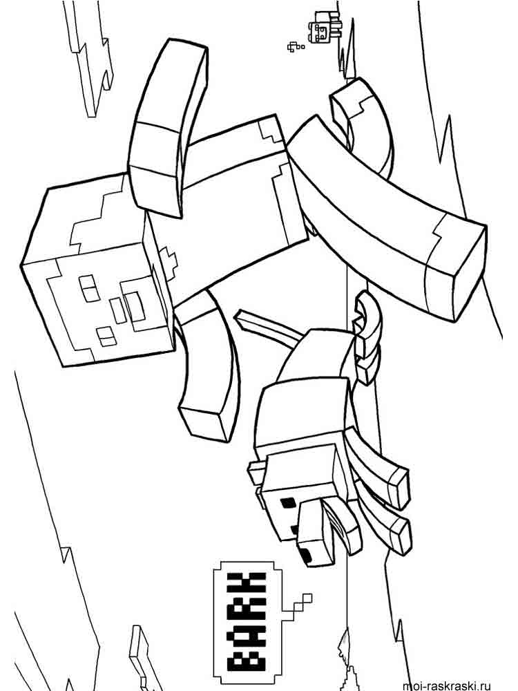 mine craft coloring pages free printable minecraft coloring pages mine coloring craft pages