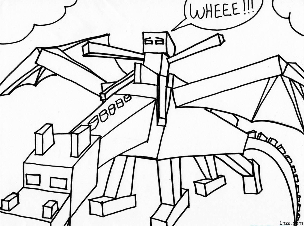 mine craft coloring pages minecraft dragon coloring pages coloring home coloring mine pages craft